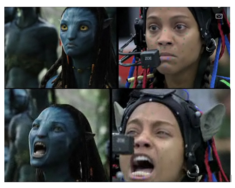 Zoe Saldana and Cast of Avatar