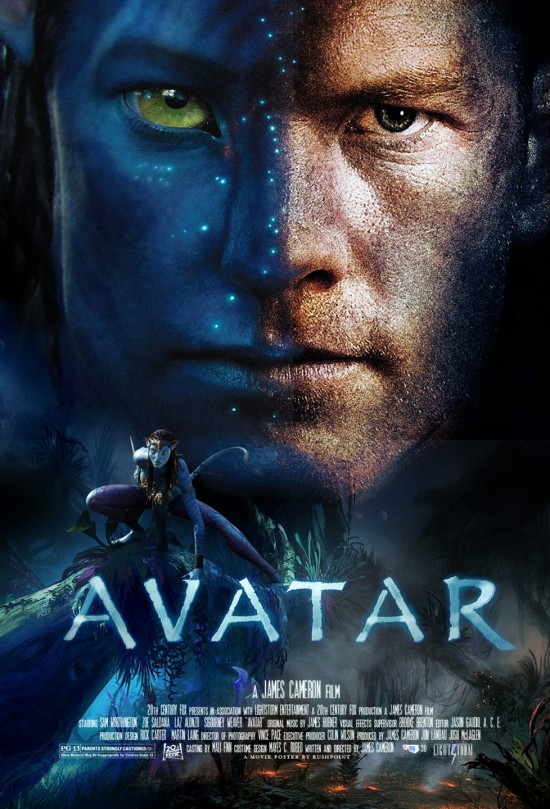 Pictures Of Avatar The Movie Characters. Avatar movie poster (fan)