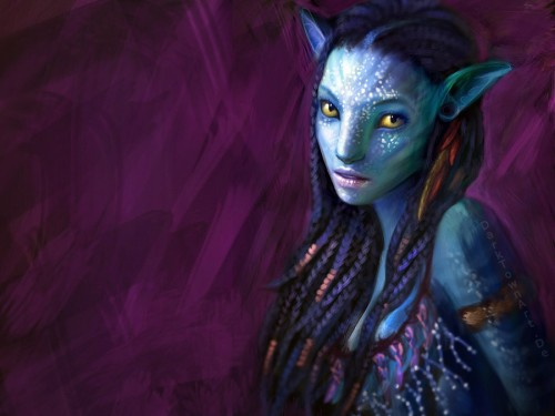 Neytiri fan art